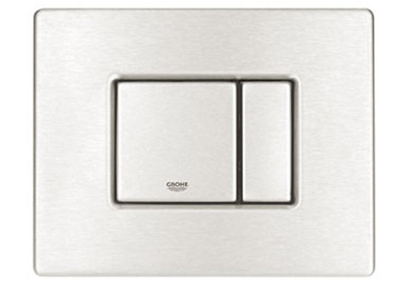 Grohe Inwall Cistern Cosmo Skate Flush Plate Horizontal - S/S