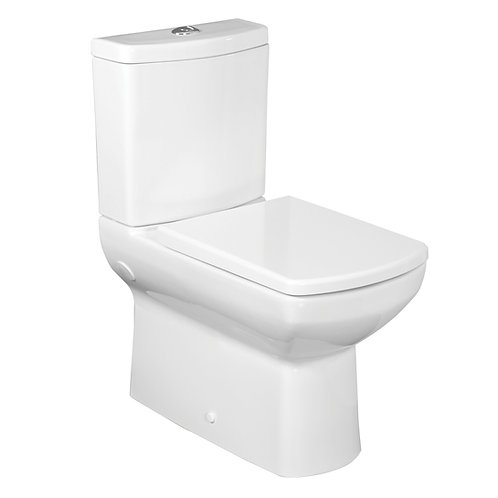 "Nero Back to Wall Toilet ""S""Trap bottom inlet cistern"