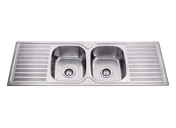 Mercer Hume Double Bowl & Double Drainer