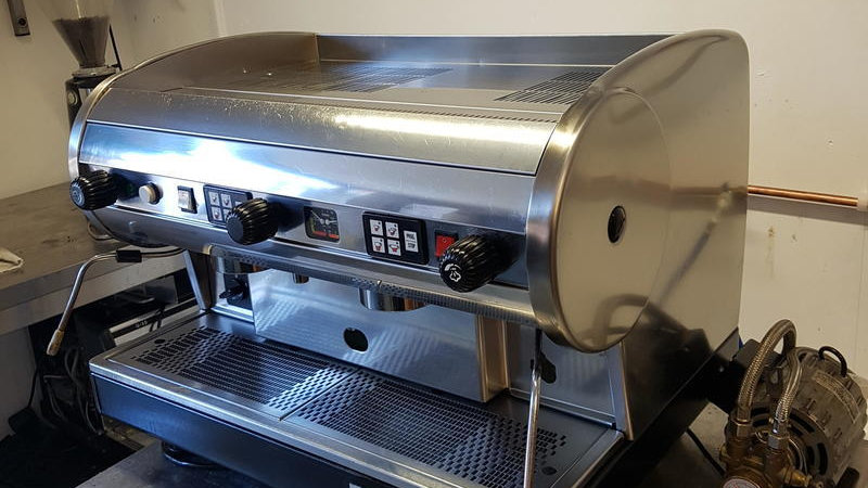 CMA Lisa Commercial Coffee Machine 2 group
