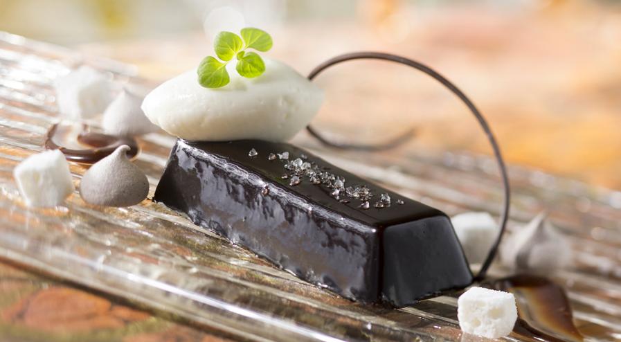 california grill chocolate ganache at contemporary resort