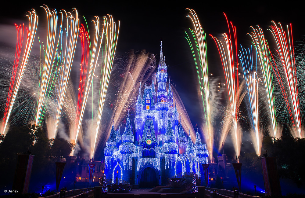 disney's happily ever after fireworks at magic kingdom