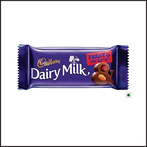 Cadbury Dairy Milk Fruit and Nut Chocolate Bar, 80g
