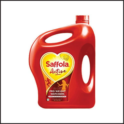 Saffola Active Blended Oil Can  (5 L)