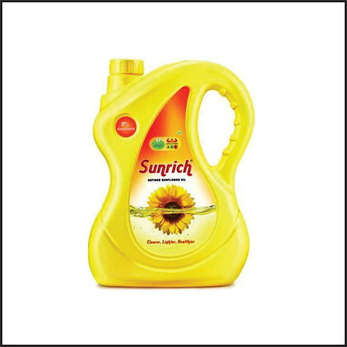 Sunrich Refined Sunflower Oil Plastic Bottle  (5 L) ₹506₹60015% off