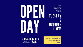You're Invited! Learner Me Open Day