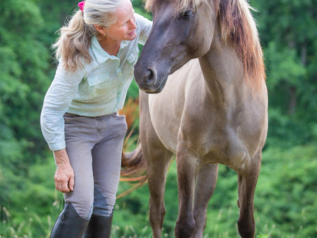 Q + A with Louise Goodling, Equine Partnering