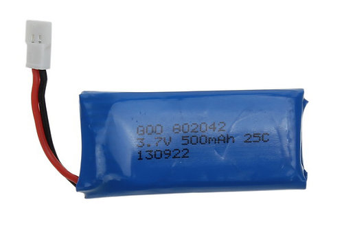 3.7V 500mAh Battery