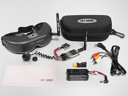 Googles Fpv Drone Fatshark V2 5.8 Ghz Camara 2.8 Mm 250 Mw