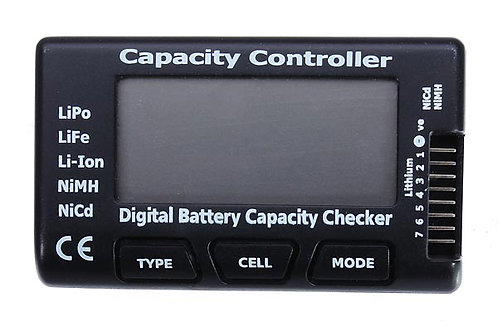 CellMeter-7 Battery Capacity Checker LiPo LiFe Li-