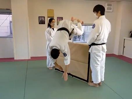 Jumping Ukemi Practice