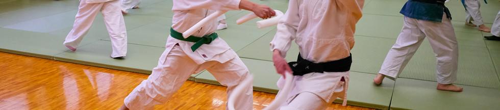 Adult Soft Sword Practice