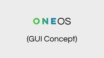 OneOS GUI Concept