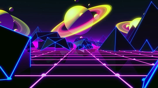 Neon Space Nights