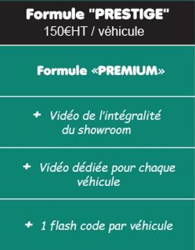 Formule Prestige SellMy3DCar visite virtuelle