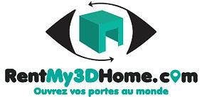 RentMy3DHome.com visites virtuelles 3D location immobilier