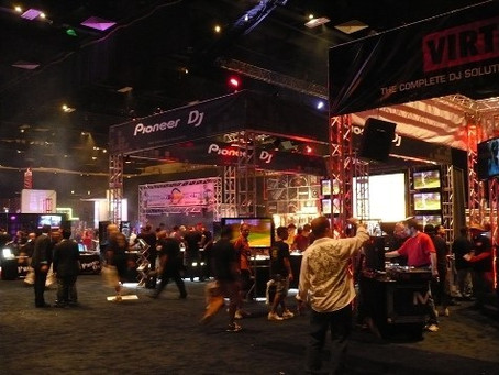 Namba Gear Rocks DJ Expo in Atlantic City, NJ