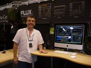 Cool French dude, Laurent from Flux software