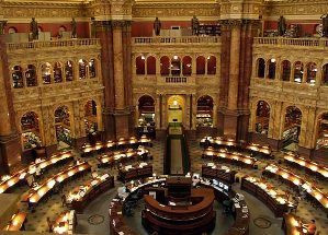 Library of Congress Reading Room (the Copyright Office is across the street)