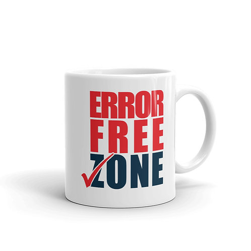 MUG - ERROR FREE ZONE