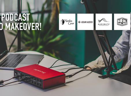 Win A Podcast Studio Makeover.