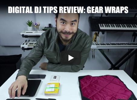 Digital DJ Tips 4 Star Review of Namba Gear's Gear Wraps