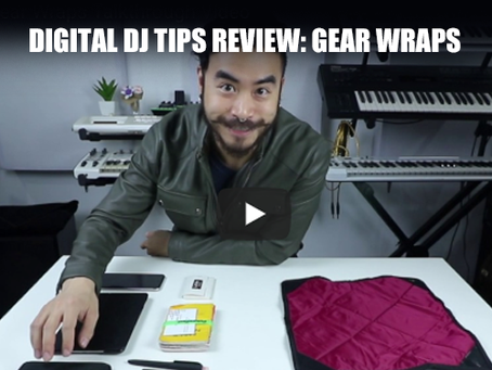 Digital DJ Tips 4 Star Review of Namba Gear's Gear Wraps