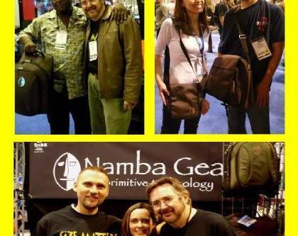 Namba Gear at Anaheim NAMM Show