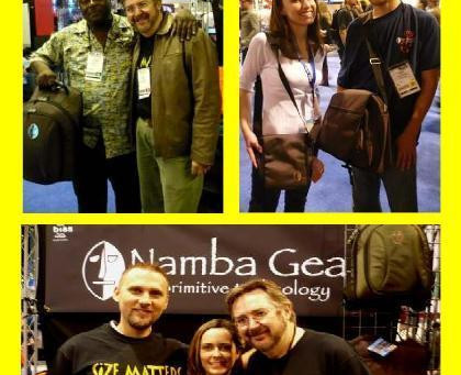 Namba Gear at Anaheim NAMM Show