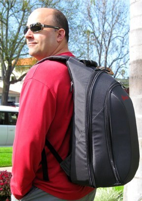 Igor Len and his Big Namba Studio Backpack