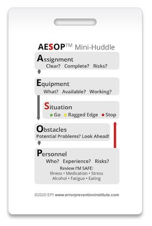AESOP for Error Prevention - Reaping the Full Benefits