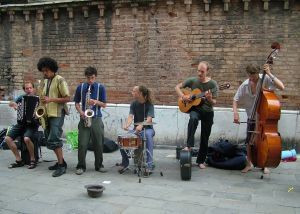 Young Sidewalk Musicians; a thing of the past?