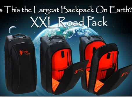 Namba Gear XXL Road Pack–Is This The Largest Backpack On Earth?