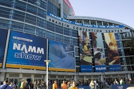 Namba Gear Attends Winter NAMM Show 2011