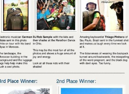 Namba Gear's 2012 Photo Contest Winners
