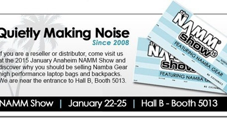 2015 NAMM Show–Namba Gear @ Hall B, #5013