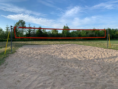 Beach volleyball now open !