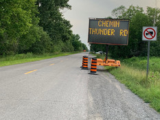 Thunder rd close from July 16 to 19.