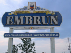 TOWNSHIP OF RUSSELL UNVEILS FIRST HISTORICAL PLAQUE IN EMBRUN