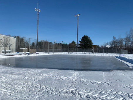 Outdoor rink and puddle rink now open at Harkness park on Piperville Rd in Carlsbad Springs.