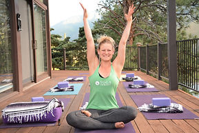 Yoga Instructor Elizabeth Kittell