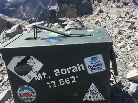 Climbing Mount Borah