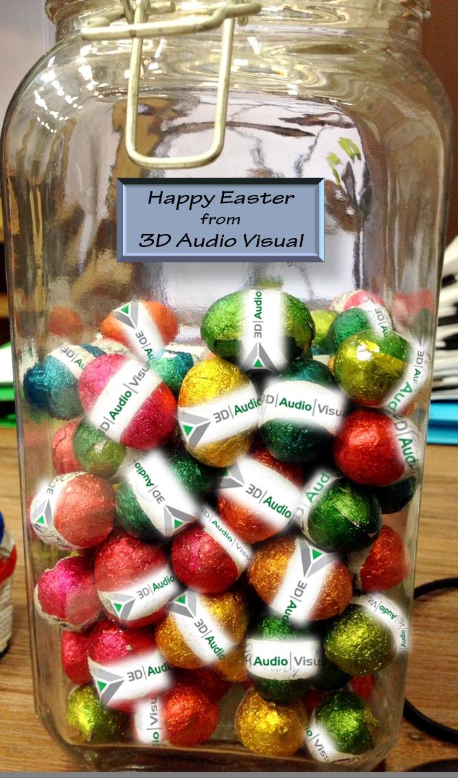 Happy Easter from 3DAV
