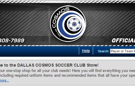 Player Uniforms & Cosmos Gear