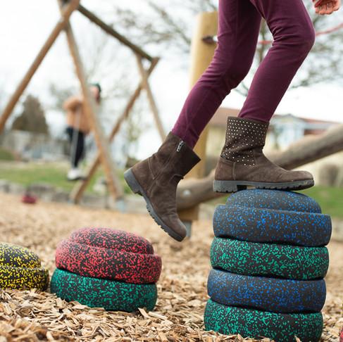 Outdoor-fun Stapelsteine/ Stay at home weeks 1