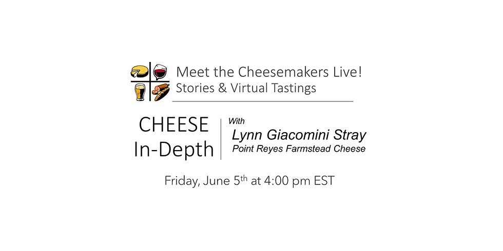Lynn Giacomini Stray Point Reyes Farmstead Cheese