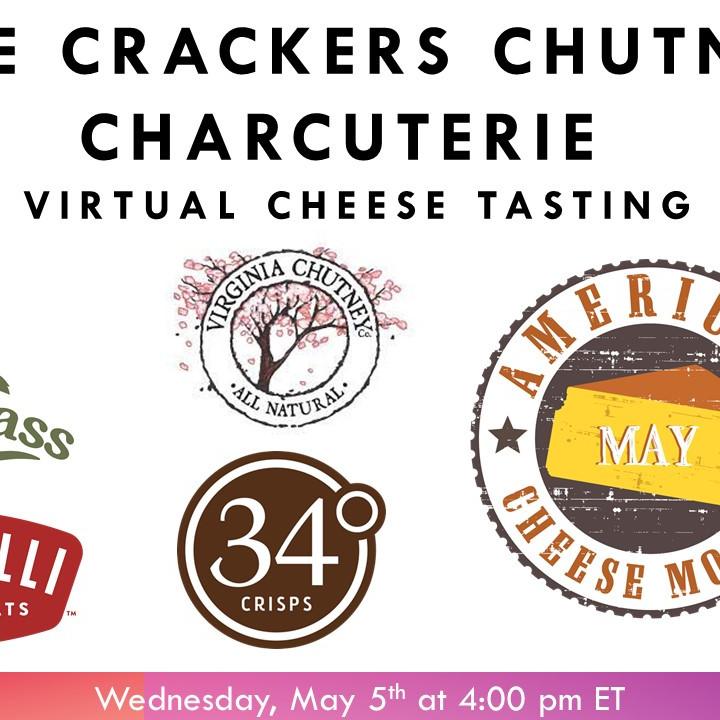 Cheese, Charcuterie, Crackers & Chutney