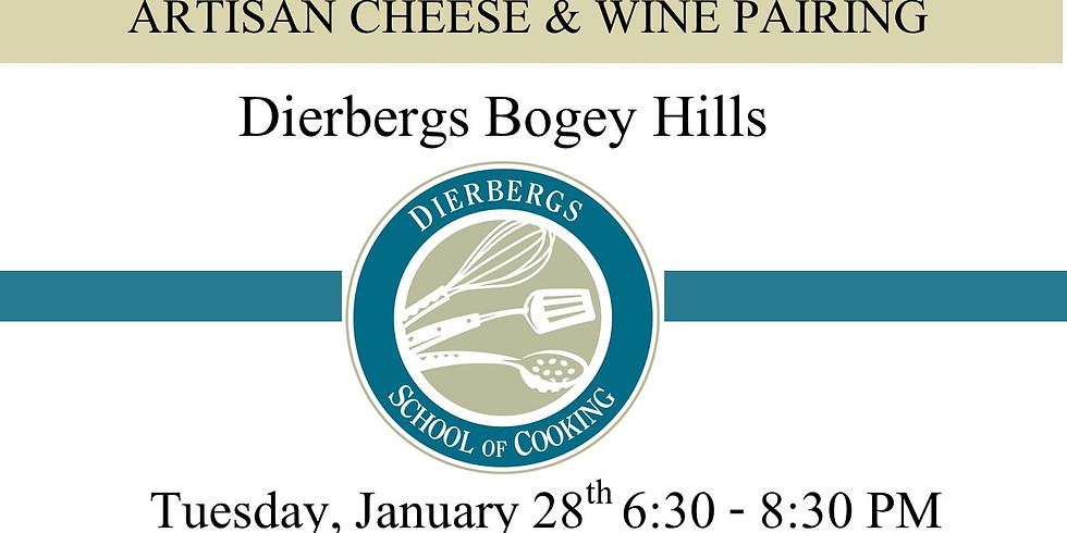 Dierbergs Bogey Hills - Cheese & Wine Pairing