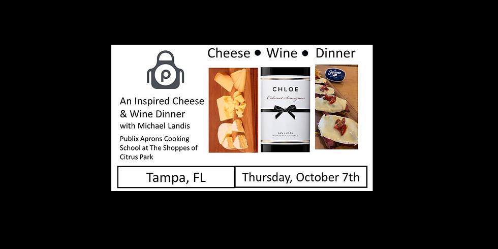 Tampa - Artisan Cheese, Wine & Dinner