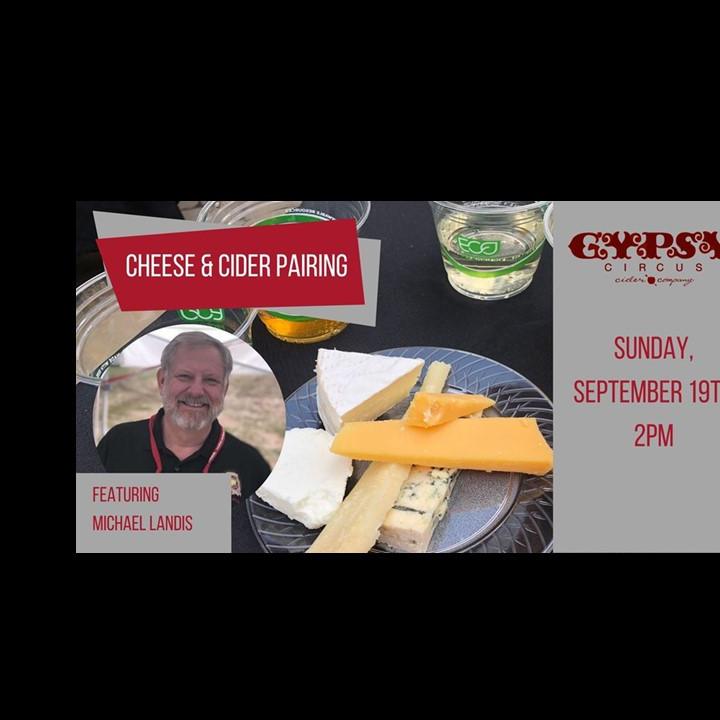 Gypsy Circus Cider & Cheese Pairing